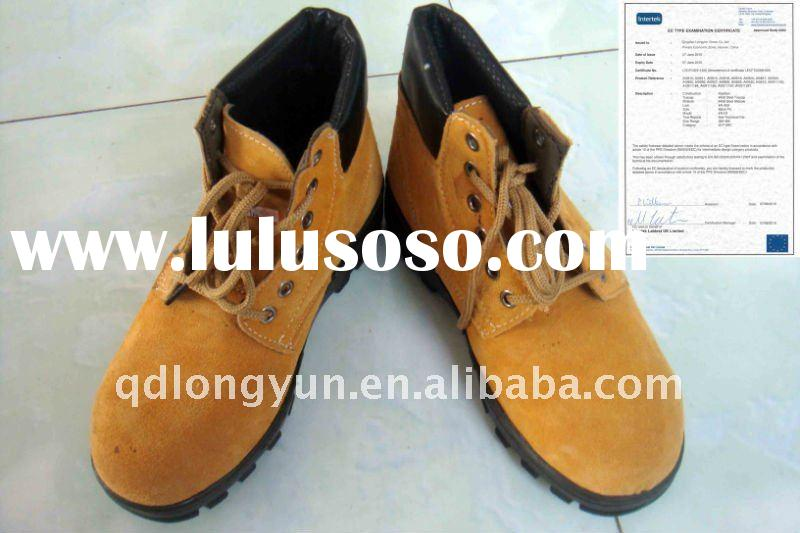 CE/steel toe/wear-resisting/100%cow leather/pu/industrial/safety shoes/safety boots
