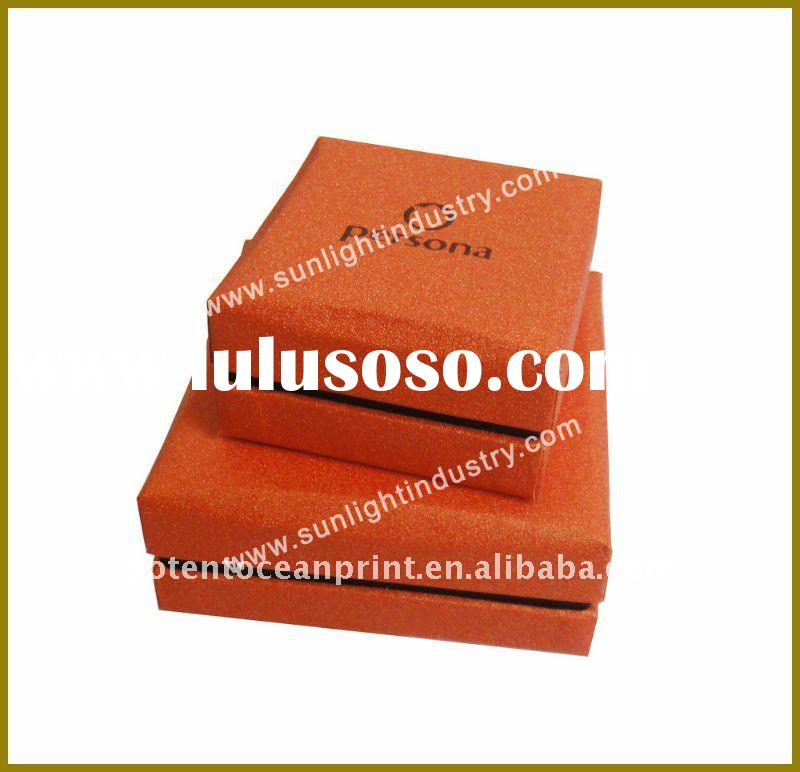 Classical quality jewelry packaging box