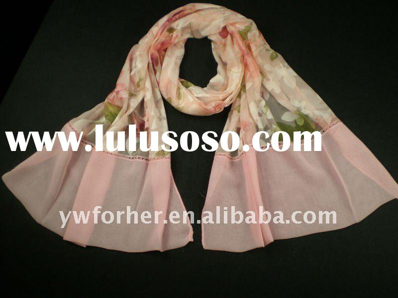 Fashion 100 silk scarf