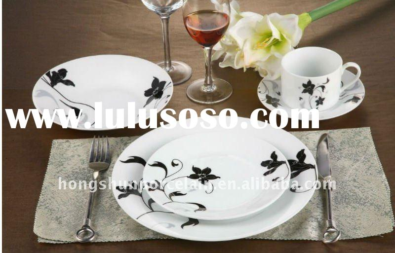 round porcelain dinnerware set/dinnerware set/ceramic dinnerware set/vajilla/tableware 30pcs