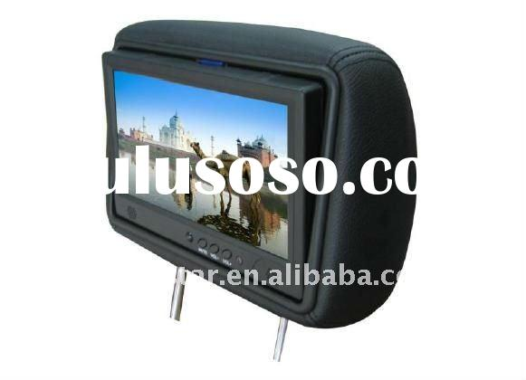 9inch 3G taxi LCD Advertising Player with headrest