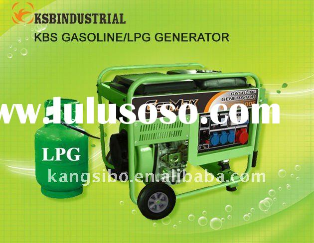 High performance 5KW Gasoline/LPG gas two-in-one Generator with electric start
