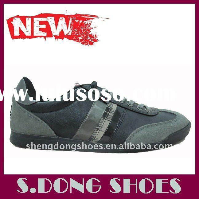 Newest leather casual shoe for men