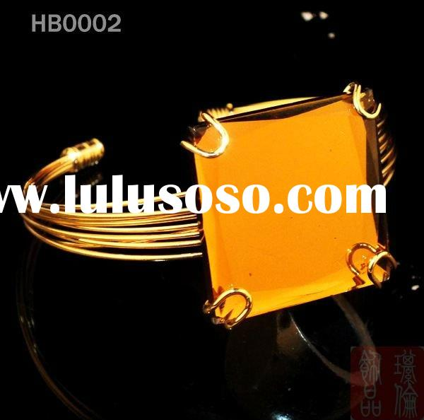 costume glass handmade bangles party bangles bracelets jewelry