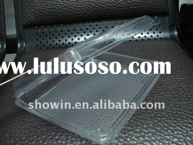 disposable plastic lunch container for food/disposable flight food package