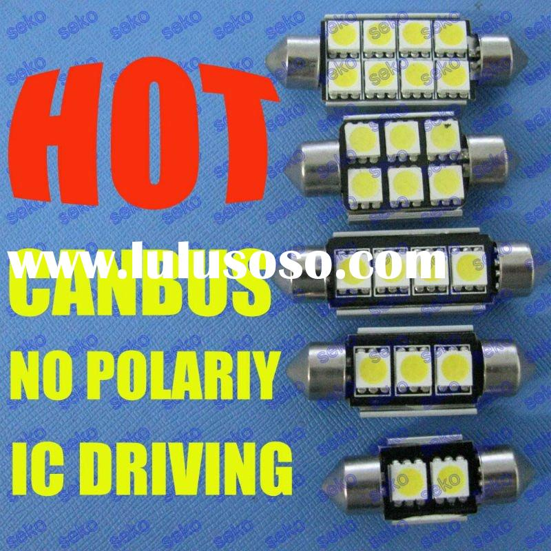 interior dome no error festoon canbus auto led bulb