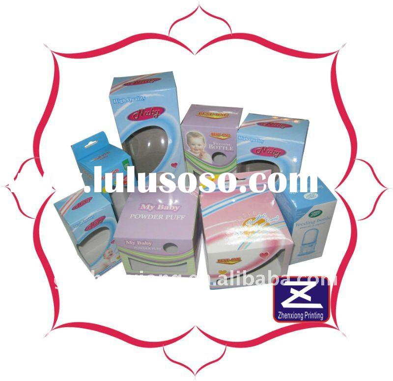 paper cosmetic box,skin care cream packaging box