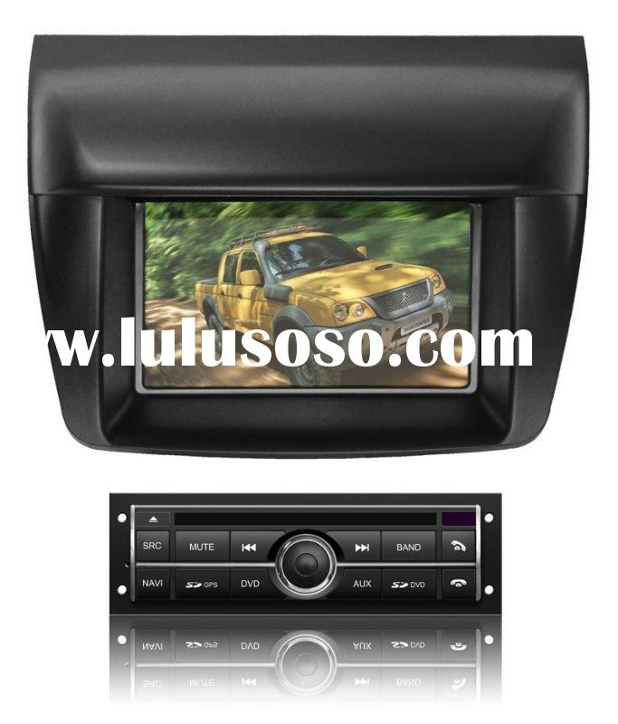 two din Car DVD Player With TV/AM/FM/Bluetooth/USB/SD CARD/GPS for MITSUBISHI L200