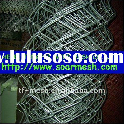 Galvanized PVC coated chain link wire mesh