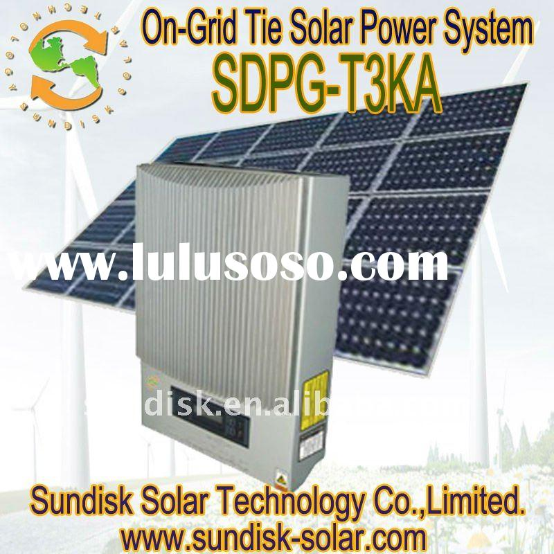 Grid Off Tie Solar Power System Lulusoso Com