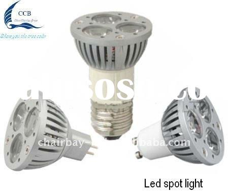 High quality energy saving 3*1w led spot lamp ,CE/RoHS/FCC