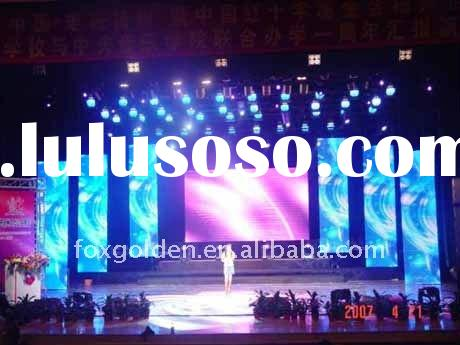 high definition hot alibaba stage P10 smd indoor led display