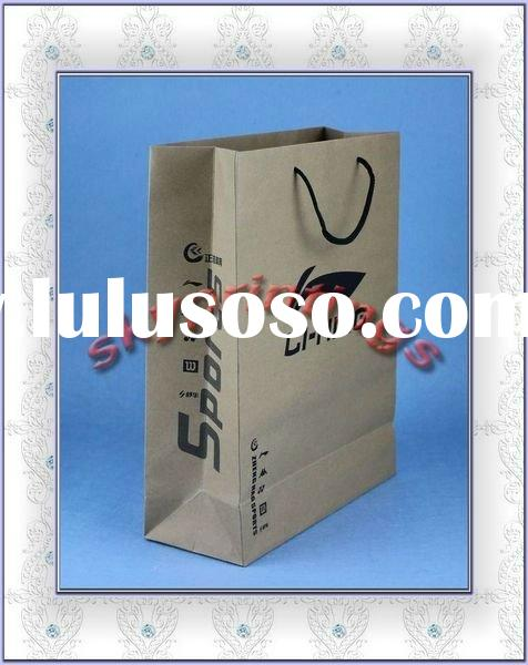 high-quality beautiful shopping paper bags for sport goods