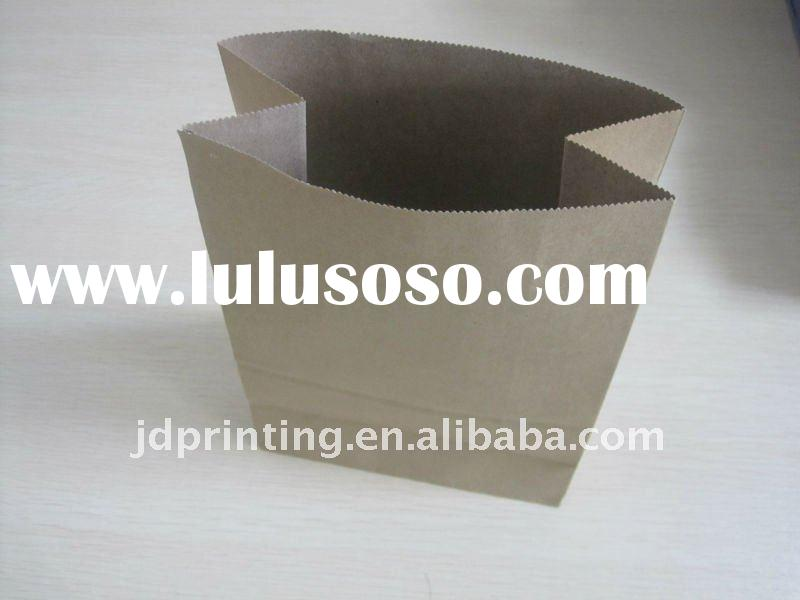 kraft paper bag for package bread,food bag