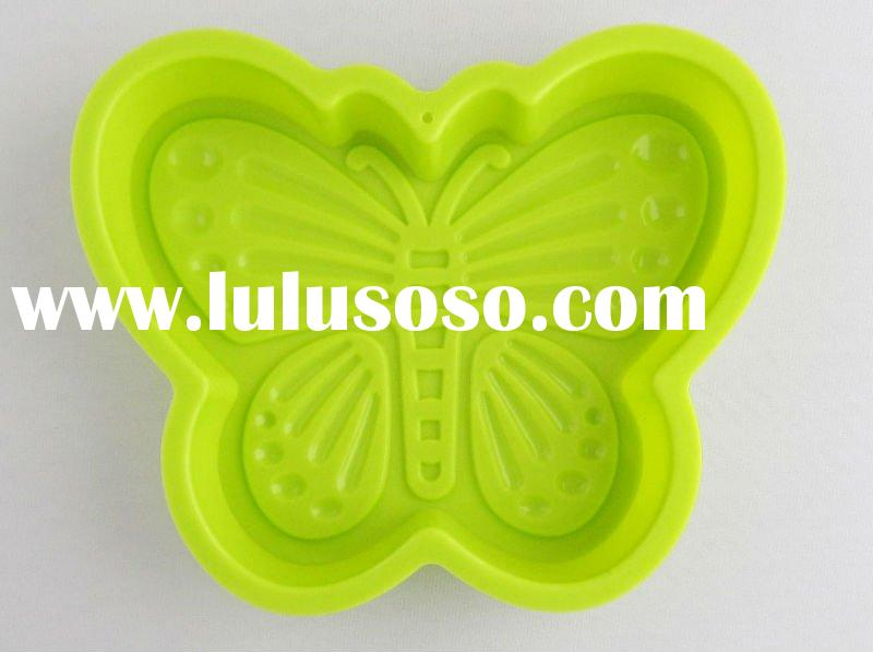 Colorful Butterfly Shaped Silicone Cake Mould