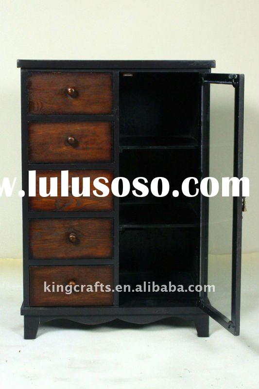 2011 Hot Sale Factory Price Antique Solid Wood Living Room Cabinet