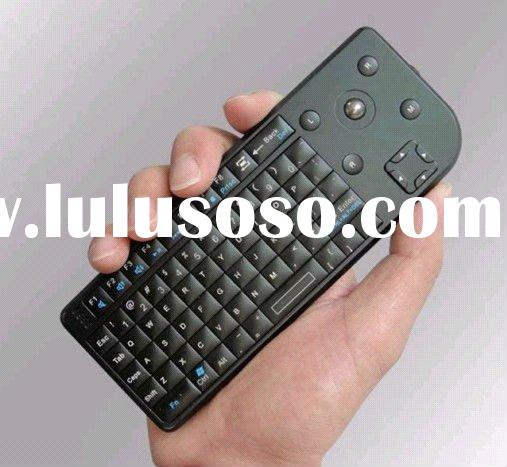 2.4G wireless mini keyboard with trackball mouse