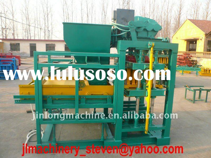 Cement brick making machine semi-auto