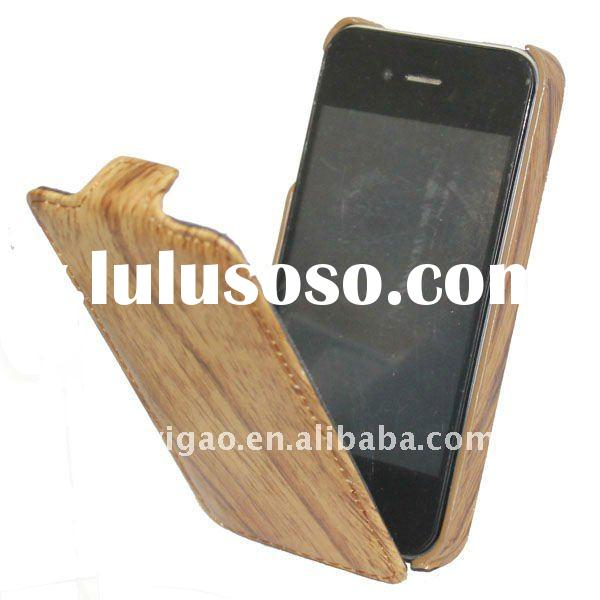 Mobile phone case Leather case for iPhone 4 Croco
