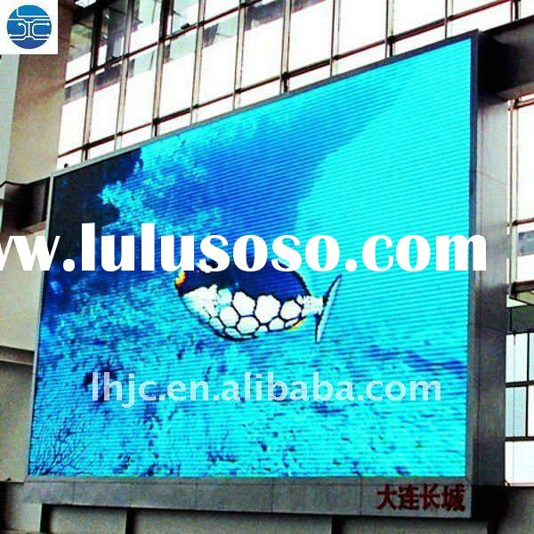 UH CHINA p16 Low power consumption outdoor full color led display sign with CE