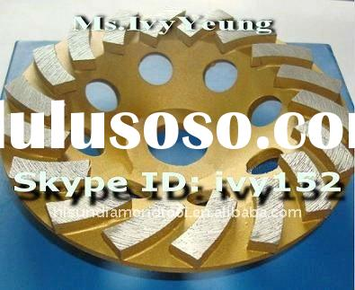 "4""  Diamond grinding cup wheel for granite"