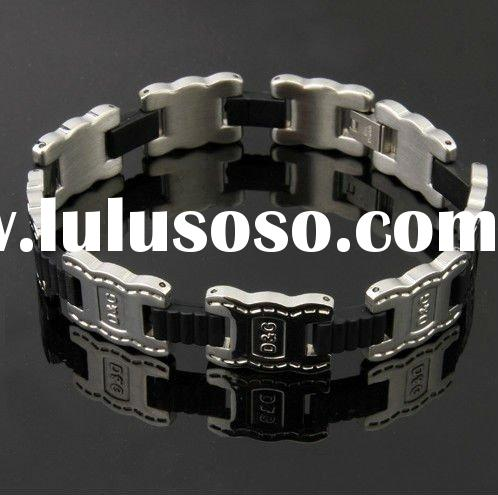 Men's Jewelry Titanium Steel Bracelet boys send her boyfriend a birthday present
