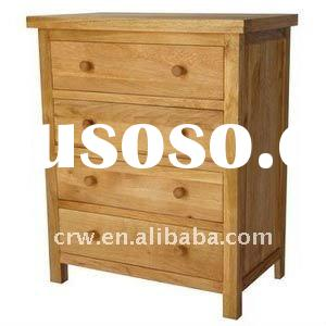 Oak Chest / 4 drawers chest