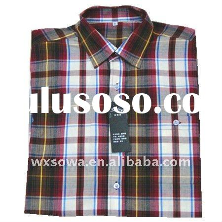 Short Sleeve Cotton  Shirts For Men