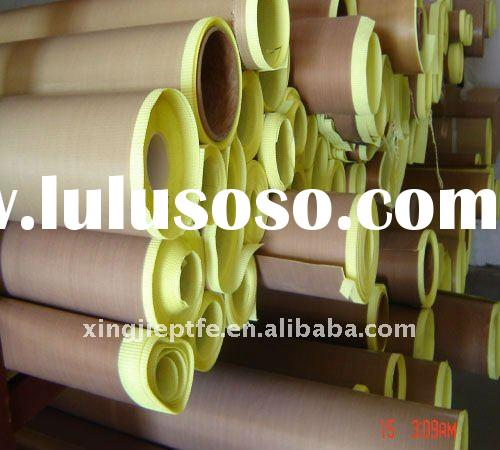 Teflon/PTFE Coated Fiberglass Adhesive Tape/with Release Paper/0.13mm