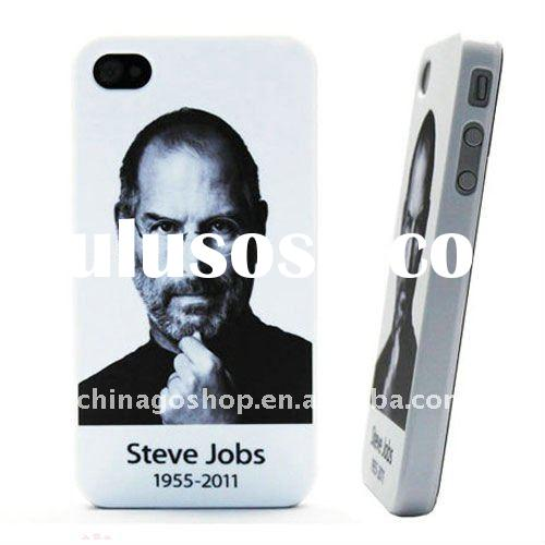High qualigy Steve Jobs Case for iPhone 4