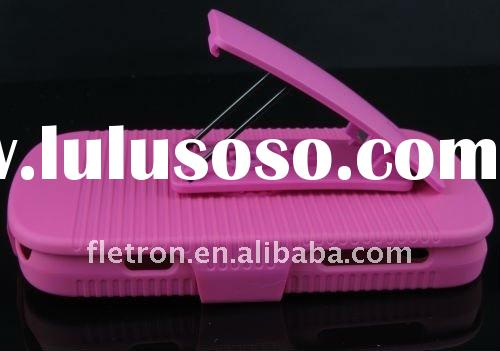 New Design Pink Belt Clip Sliding  Hard Back Case For Blackberry Curve 9350/9360/9370