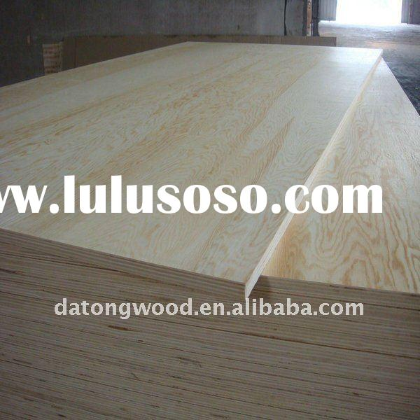 good quality pine core commercial plywood/pine plywood