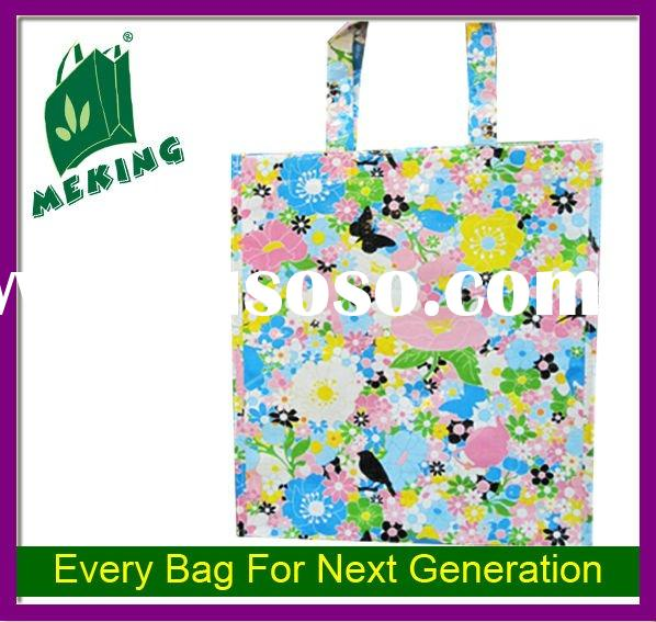 many colors printing laminated PP non woven bag in China , quality ensure,low price