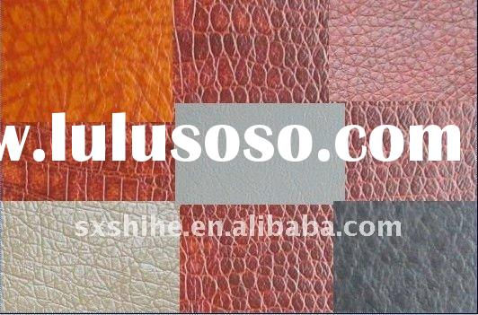 100%polyester pu leather pu material for jacket