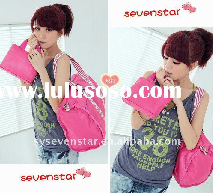 2011 Lastest Canvas Fashion Unique Fascinating Tote Handbag for Young Girls