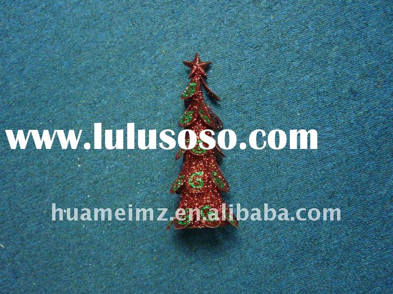 2011 New product  Metal  christmas tree Decoration, Customized Styles and Designs are Accepted