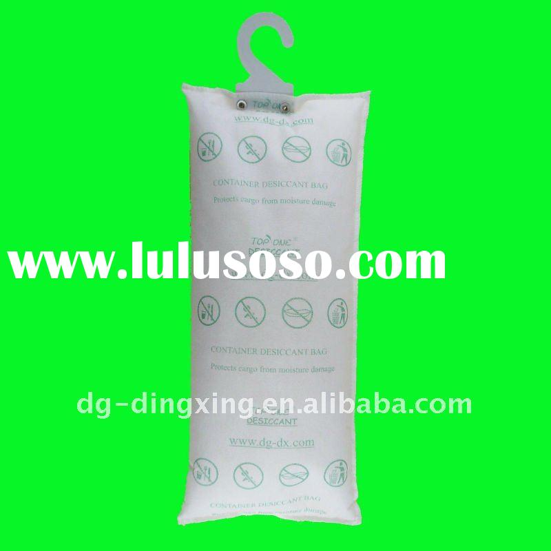 2kg container desiccant bag 2layers PP non-woven fabric,silica gel