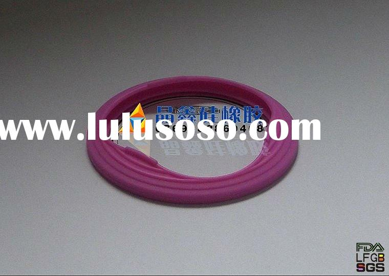 Colorful silicone cup cover,100% food grade silicone