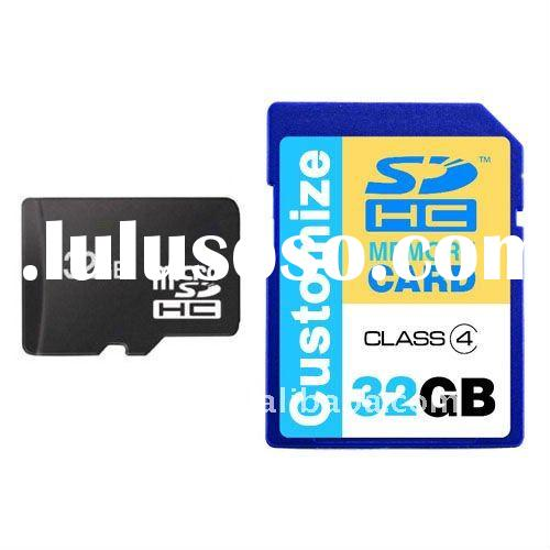 Customize Real Capacity 32GB SD Memory Card