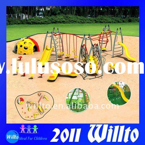 TUV EN1176 Kids Outdoor Playground Equipment WT-K9162A