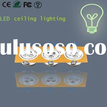 9w high quality LED Ceiling lighting with high lmen