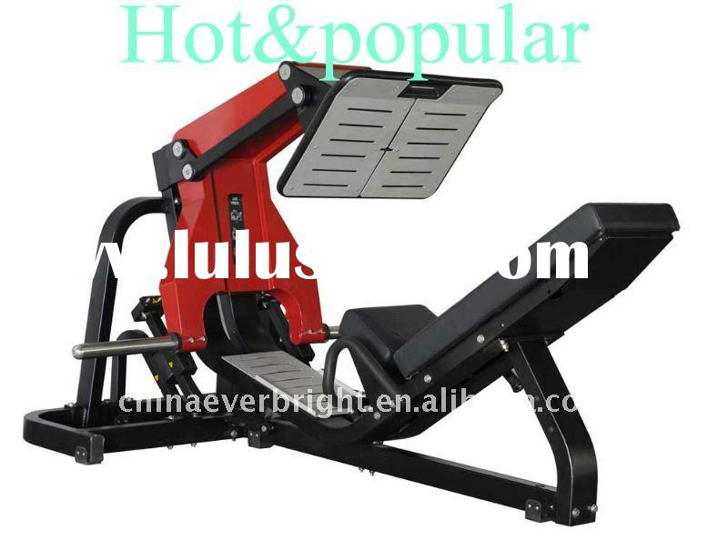 hot &popular plate loaded technogym fitness equipment/leg press