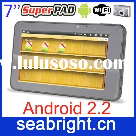 laptop computer ( 7 inch super pad with android 2.2 wifi camera G-sensor infotmic flash 10.1 MG7067