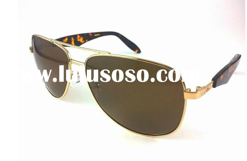 2011 HOT sale high quality metal frame big sunglasses
