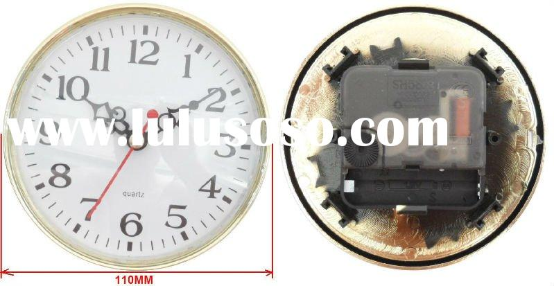 110mm quartz clock inserts