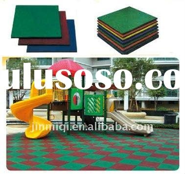 2011 rubber mat,rubber flooring,outdoor playground mat