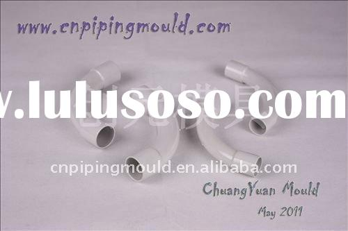 ABS elbow pipe fitting mould