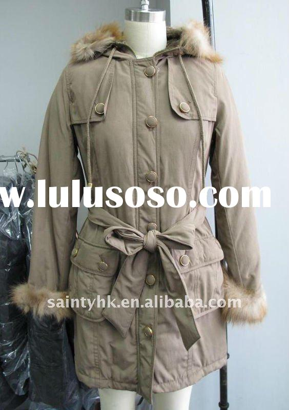 Ladies fashion winter jacket