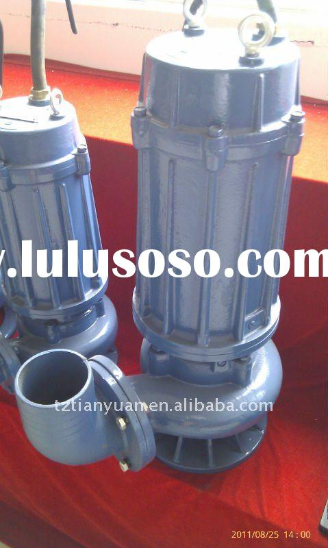 WQY oil-filled submersible pump