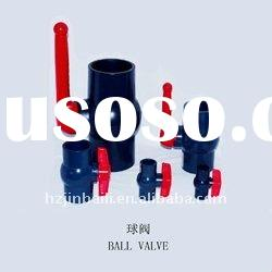 plastic valve,pvc valve,compact pvc ball valve with long handle